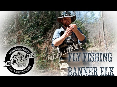 Fly Fishing Banner Elk - Carolina Escapades