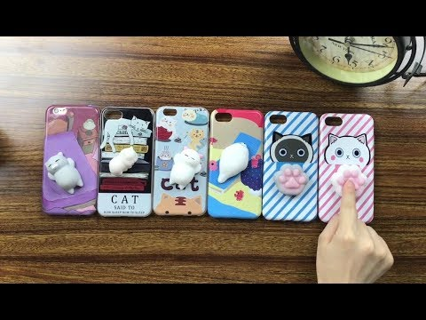 Cute Squishy 3D Phone Case Fidget Relieve Toy Cover | Cleaning Tips