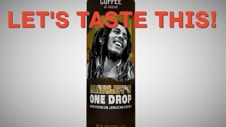 Marley's One Drop™ Coffee Review - Let's Taste This!
