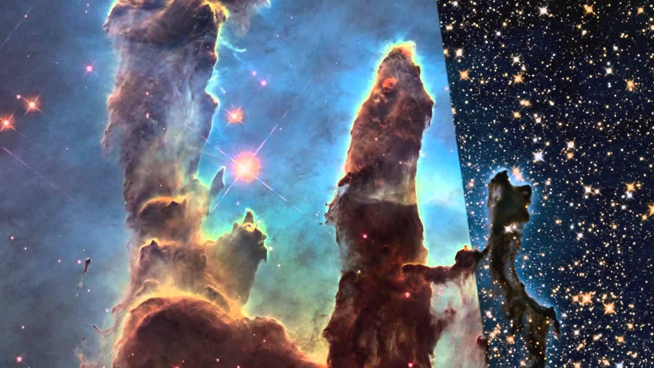 Hubblecast 82. Новый вид Столпов Творения