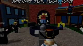 i got head shoot by a girl?! roblox gameplay