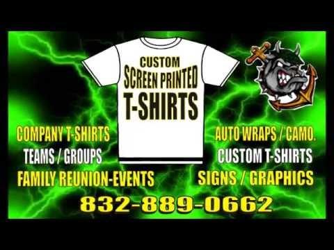 Custom t shirts screen printing houston t shirts no setup for T shirt printing houston