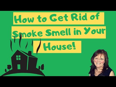 How To Get Rid Of Smoke Smell In Any House