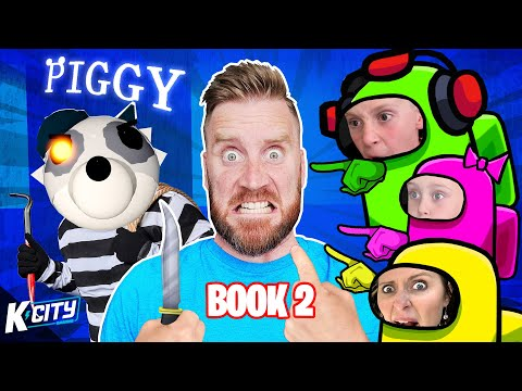There's a PIGGY Imposter AMONG US!! (Roblox Piggy Book 2!) K-CITY GAMING