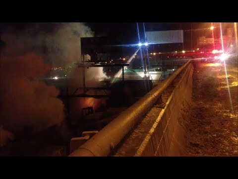 """""""FDNY 5 ALARM FIRE"""" """"BROOKLYN BOX 079"""" Major Response To Large Commercial Fire In A Lumber Warehouse"""