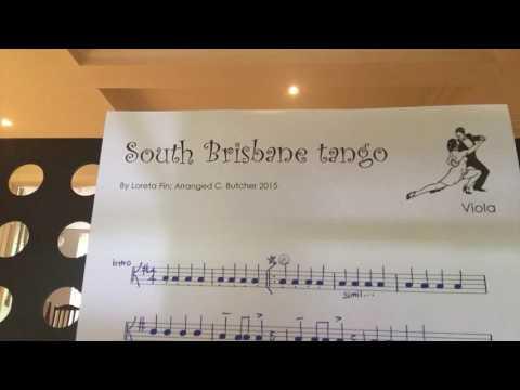 South Brisbane Tango by Loreta Fin