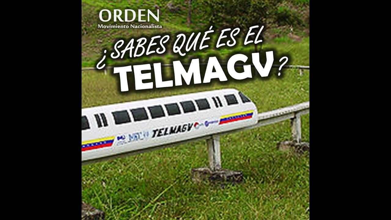 Tren electromagnetico venezola...