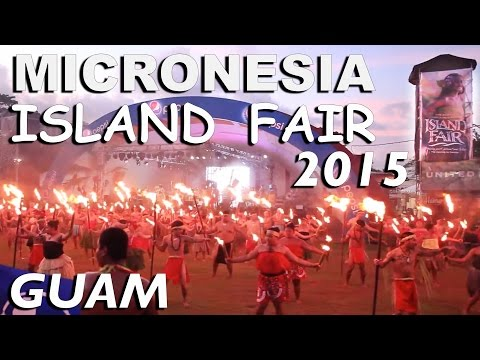 Micronesia Island Fair 2015 Guam part 1-3