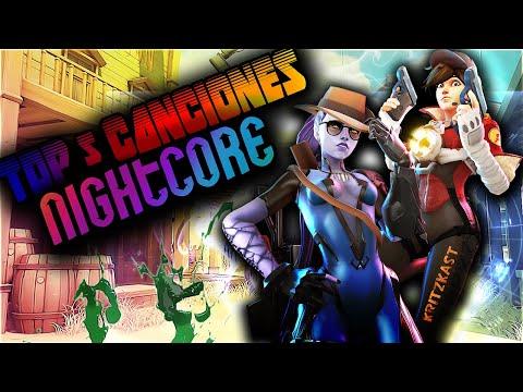 Top 5 Canciones NIGHTCORE Bailes+ Rias
