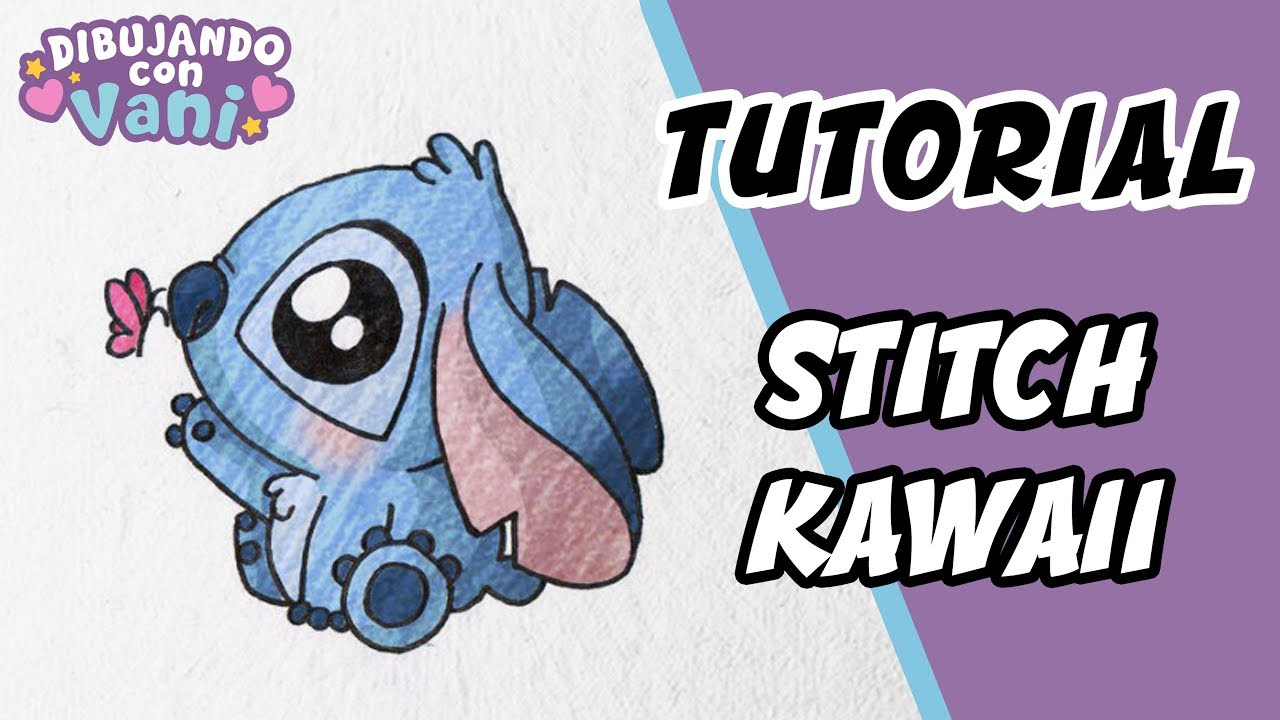 How To Draw Stitch Kawaii
