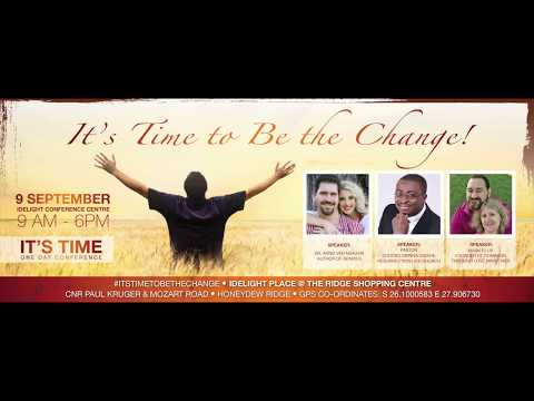 Time To Be The Change JHB part one Mark Ellis.