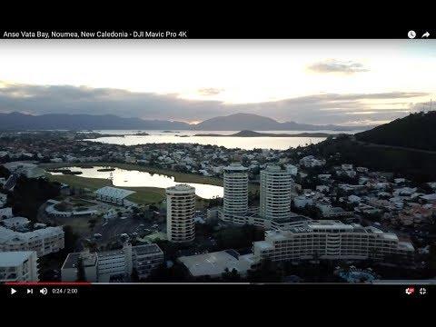 Anse Vata Bay, Noumea, New Caledonia -  DJI Mavic Pro 4K