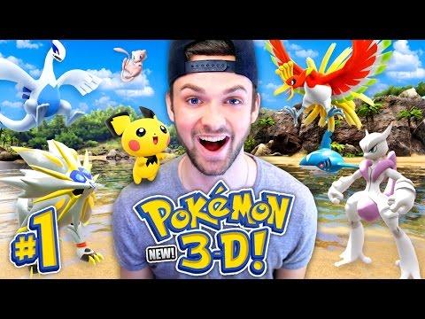 Pokemon 3D - SEASON 2! (NEW) - BRAND NEW POKEMON ADVENTURE! (#1)