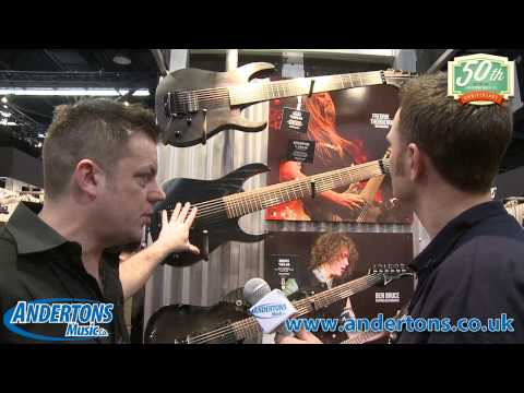 NAMM 2014 - Ibanez Guitars - New for 2014