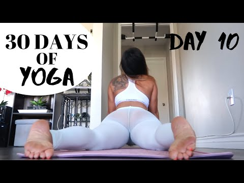DAY 10 of 30 DAYS YOGA CHALLENGE | TRIPOD STAND PRACTICE