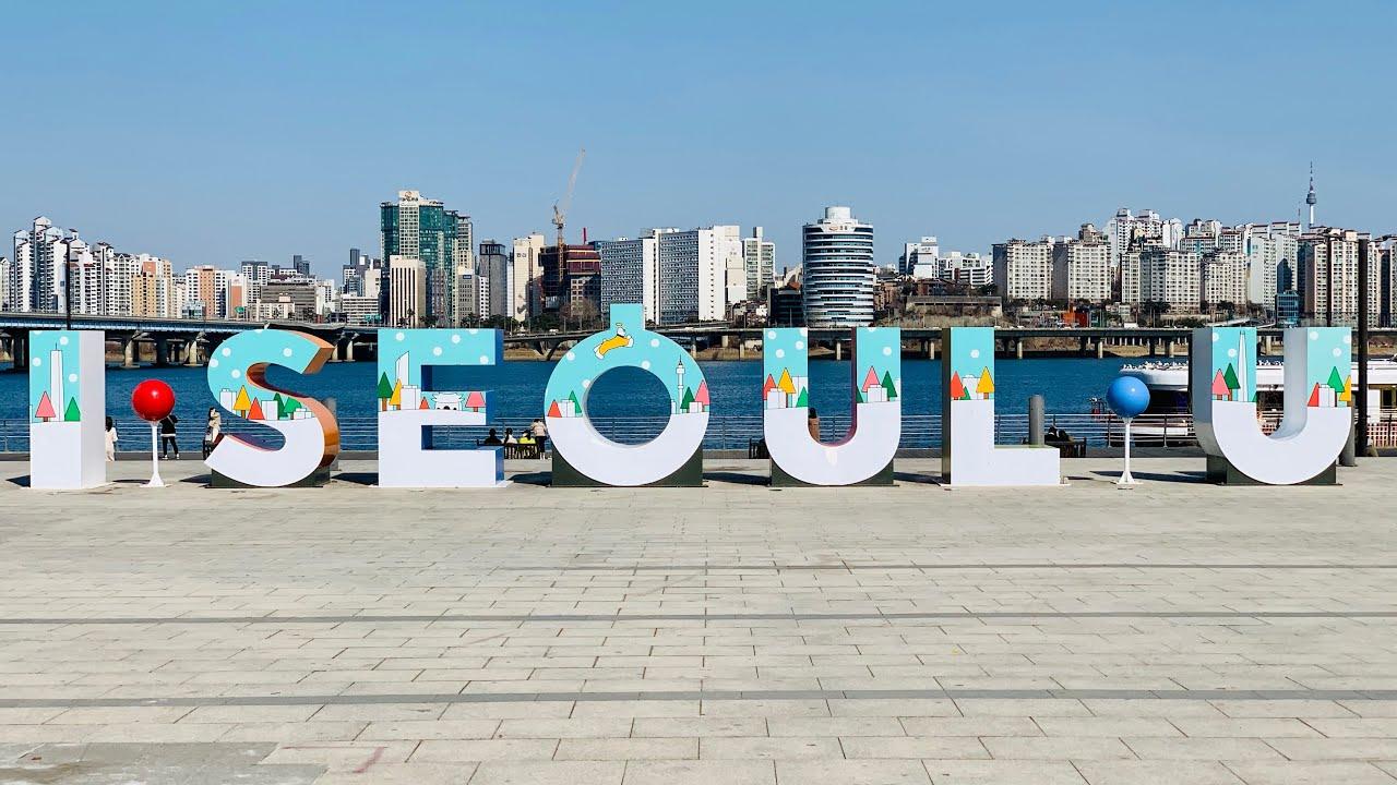 [LIVE] Seoul Walk in Yeouido District during Lunch Time South Korea 라이브 서울 여의도의 점심시간을 함께 걸어요 서울워커