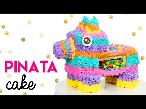 How to Make a Pinata Cake!