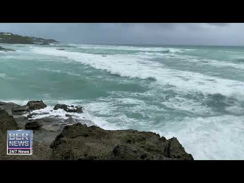 Weather As Hurricane Paulette Approaches Bermuda, Sept 13 2020