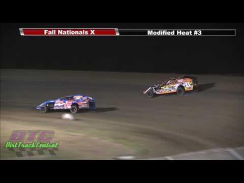 IMCA Modifed Heats Fall Nationals RPM Speedway 10 7 16