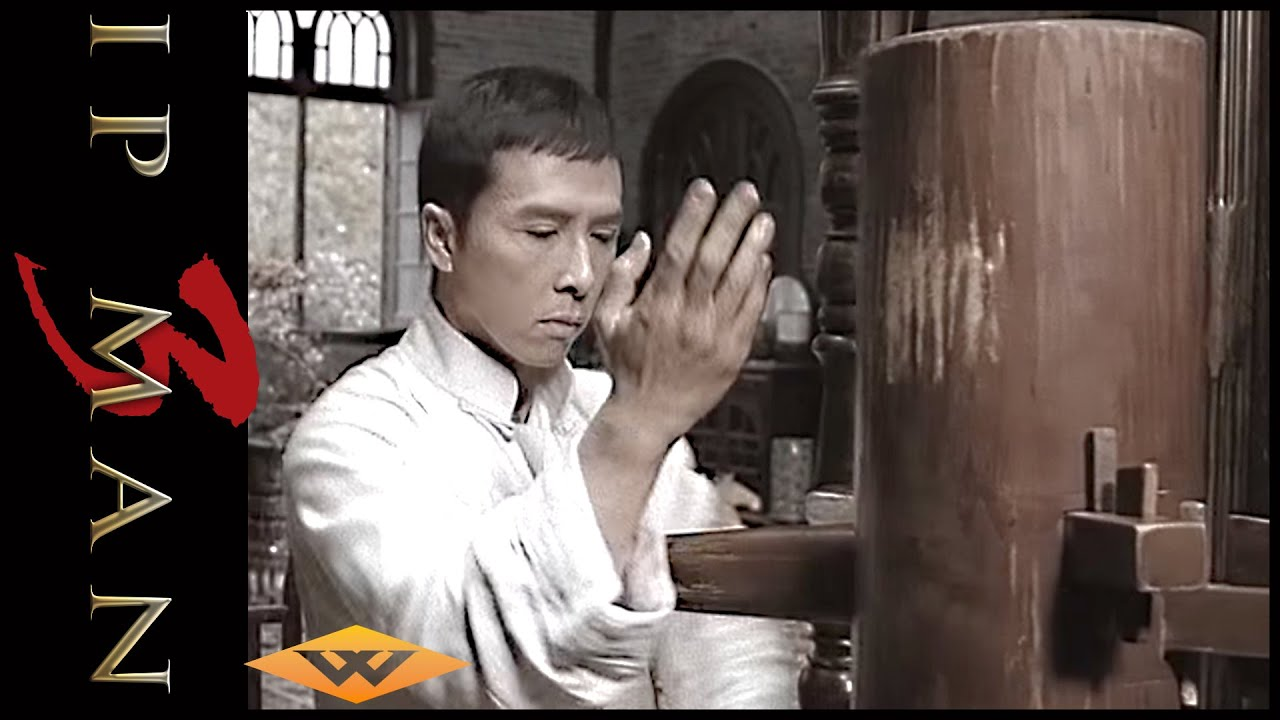 Wing Chun Lesson Two Wooden Dummy Ip Man 3 Youtube