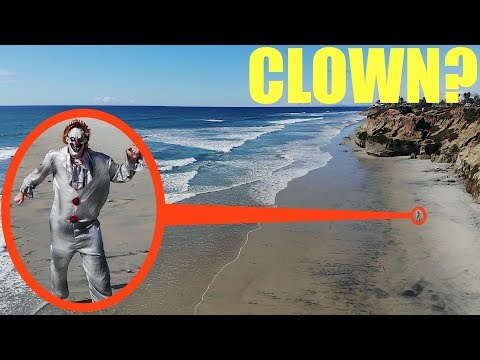 you-won't-believe-what-my-drone-caught-on-camera-at-clown-state-beach-/-scary-killer-clown-sighting!