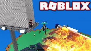 SURVIVING FROM A FIRE IN ROBLOX!