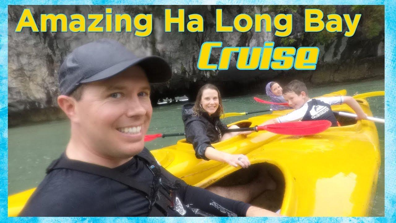Amazing Halong Bay Vietnam Cruise!! Vietnam Tour Vlog