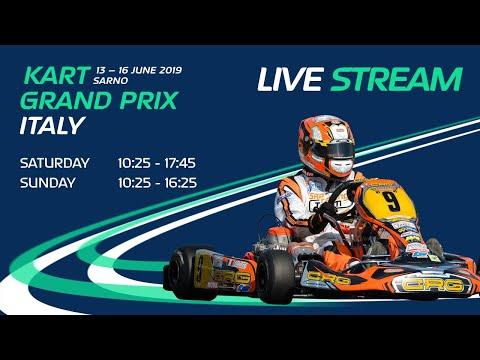 FIA Karting European Championship 2019 KZ / KZ2 / Academy Trophy Round 2  Sarno Sunday