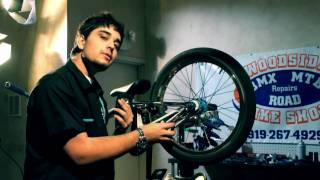 How to fix your bike install a new chain BMX