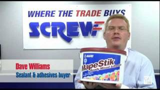 Screwfix Buyer Dave Williams Discusses Mapei MapeGrip D2 & MapeStick