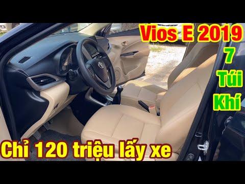 Mua bán xe ô tô cũ giá rẻ tại hải phòng.toyota vios 2019 MT 1.5 bản 7 túi khí 1 chủ từ mới