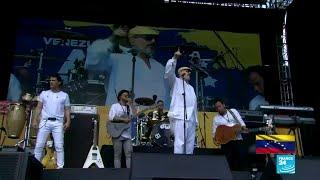 Los artistas presentes en el 'Venezuela Aid Live'