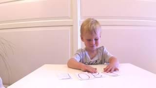 ✪ ОБУЧЕНИЕ ЧТЕНИЮ  Учим гласные за 5 уроков в игровой форме  Обучение детей чтению׃ урок 2