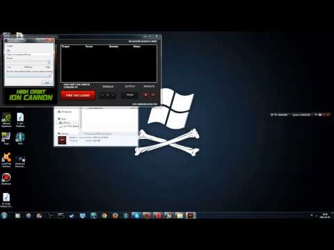 How to use HOIC ( High Orbit Ion Cannon ) DDos Program Free Download 2014