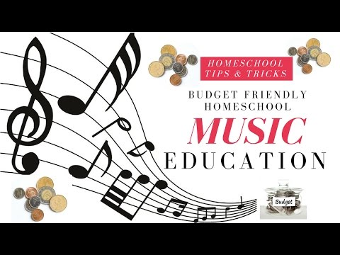 Budget Friendly Homeschool Music Education