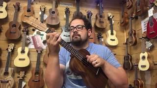 Ukulele Comparison Video - 6 x Kanile'a Islander Concert and Tenor Ukes