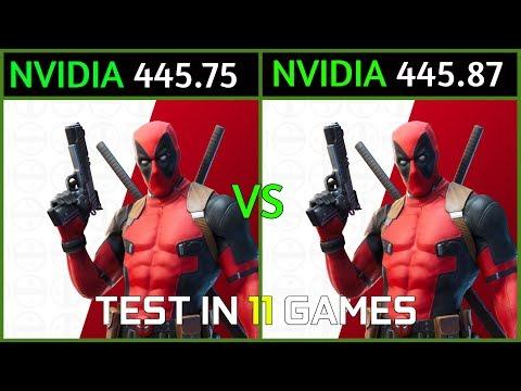 Nvidia Drivers 445.75