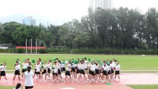 香港培道中學2015-2016運動會 䎚社啦啦隊
