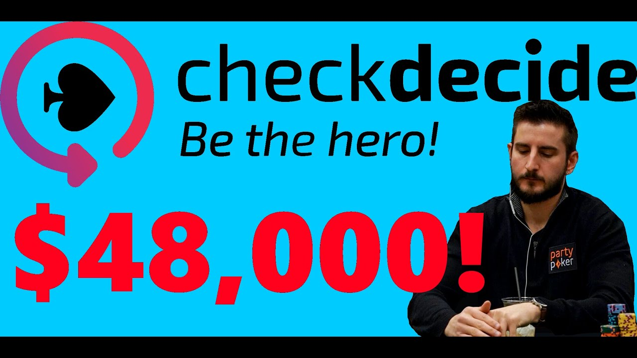 Exactly How I Won $48,000 Playing a Poker Tournament [CheckDecide FULL REVIEW]