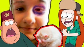 Новенькая крыса... подбила глаз и разломала домик Домашние питомцы Венди Мэйбл Пухля-крысы