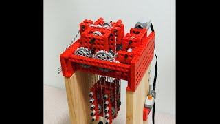 Making a Powerful Lego Hoist (re-edit)