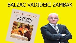 Kitap Önerisi  VADİDEKİ ZAMBAK (Honoré de Balzac)