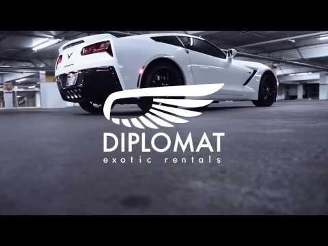 Corvette Stingray Rental In Las Vegas - Diplomat Exotic Rental