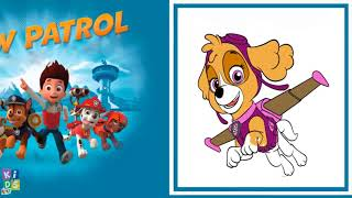 PAW Patrol Skye Chase Rubble Rocky and PJ Masks Gekko Owlette Catboy Coloring Pages and Puzzles