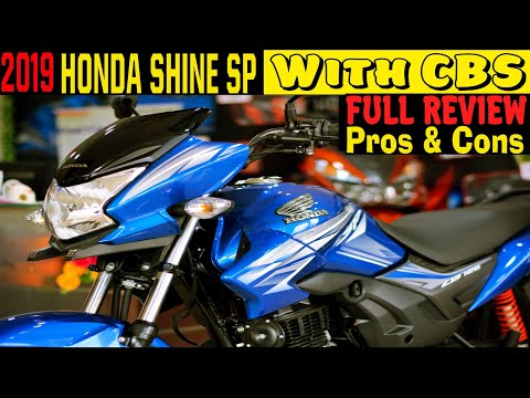 2019 Honda SHINE SP CBS Pros & Cons Full Review Best 125cc of India?? MotoMad