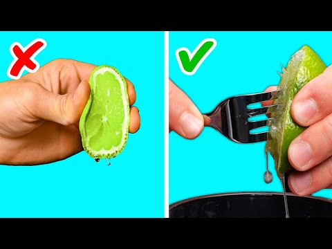 25 AMAZING FORK LIFE HACKS || Kitchen Items Tricks by 5-Minute Recipes