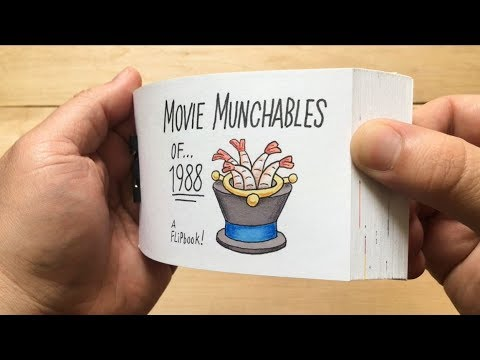 Movie Munchables of 1988 (a film food flipbook)