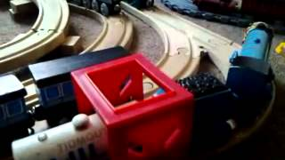 Another Old Thomas Wooden Railway Layout