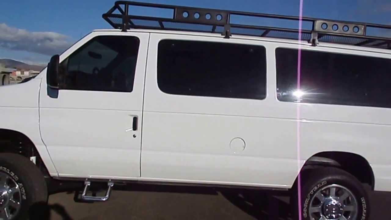 7.3 Powerstroke For Sale >> 2000 FORD E-350 DIESEL VAN 4X4 7.3 POWERSTROKE - YouTube
