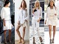 Stunning with All White Fashion Trend